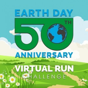 virtual run challenge - earth day